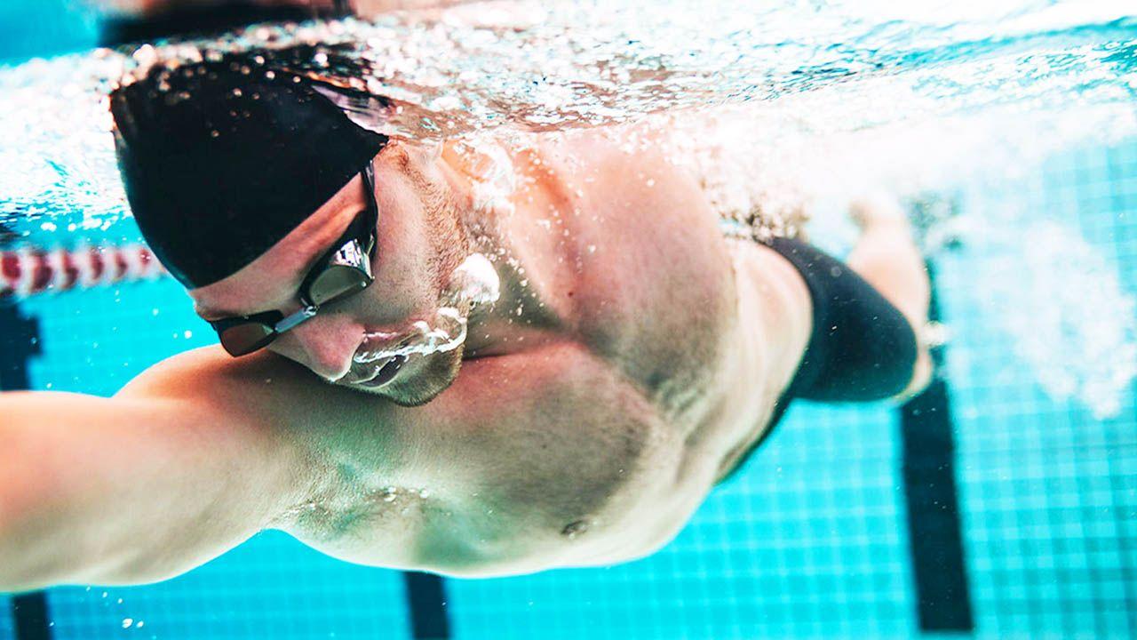 Entrenamiento de velocidad en natación