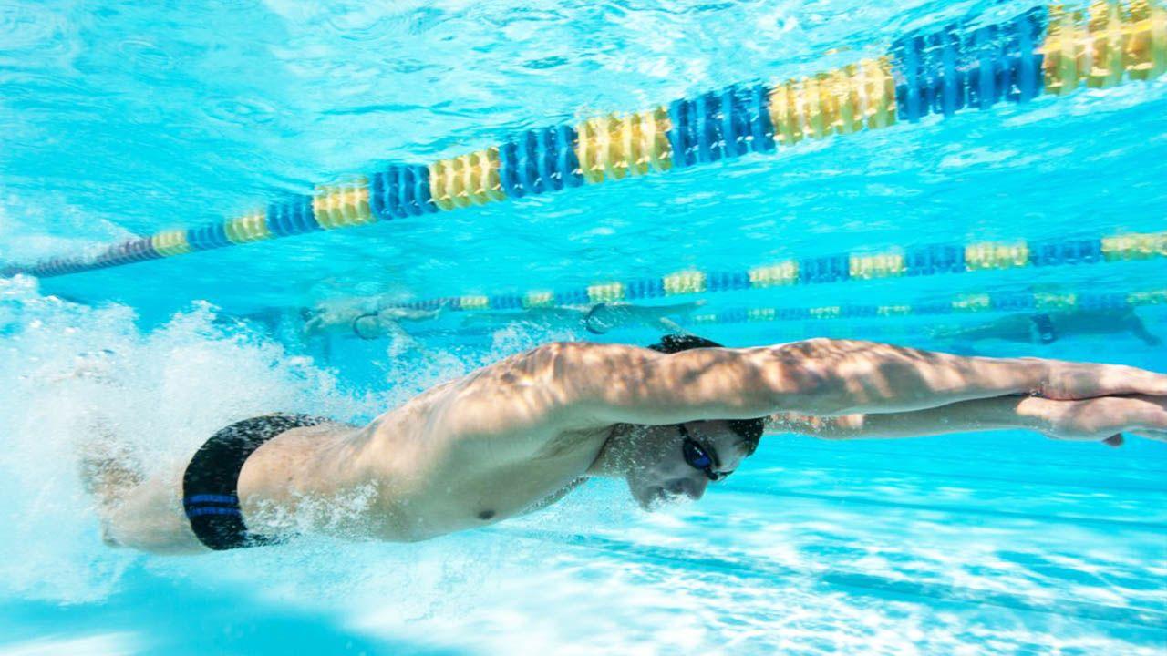 Entrenamiento de velocidad en natación: